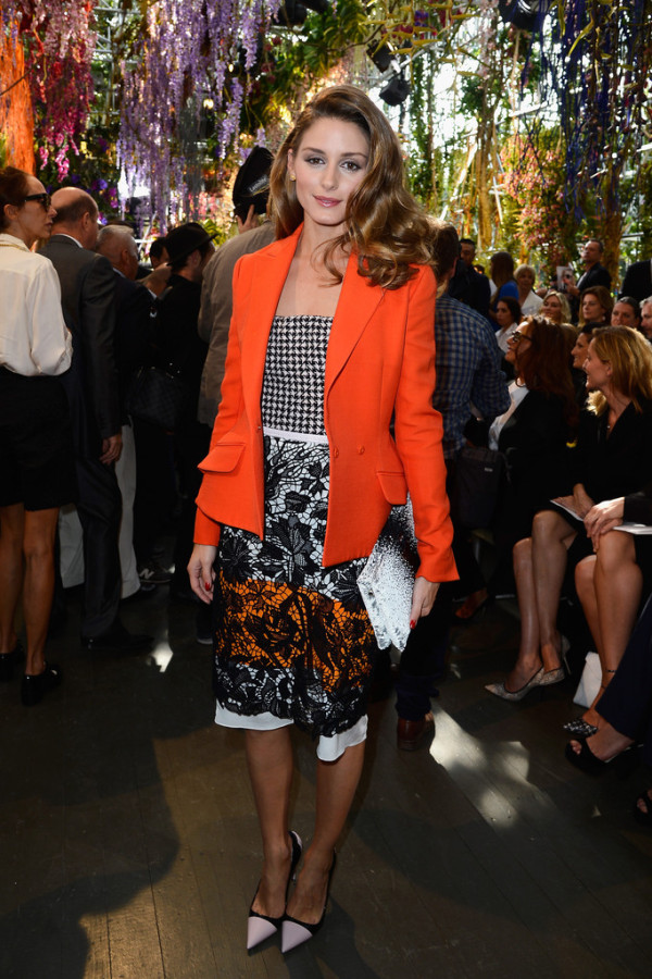 Olivia-Palermo-in-Christian-Dior-Dior-SPring-2014-Fashion-show-Front-Row-600x900
