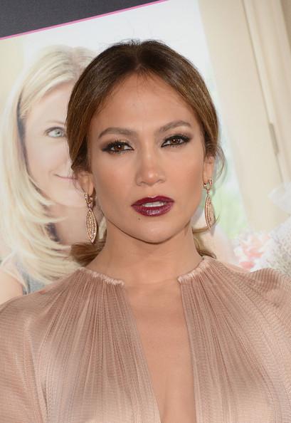Jennifer+Lopez+Makeup+Berry+Lipstick+SpFFrpbE3dpl