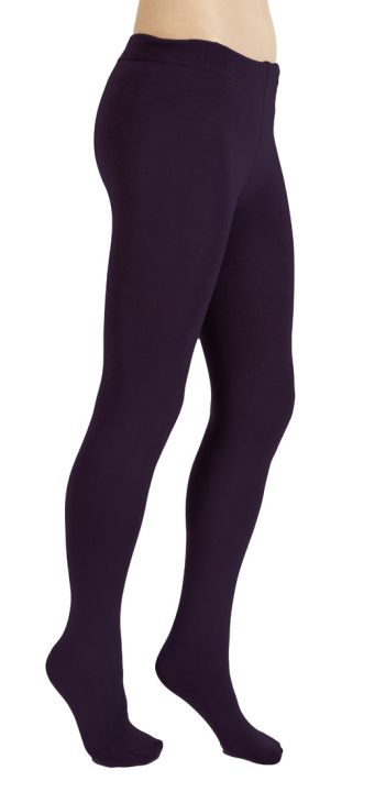 Plush Full-Foot Fleece Lined Tights, $35