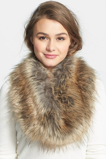 Nordstrom Faux Fur Infinity Scarf, $30