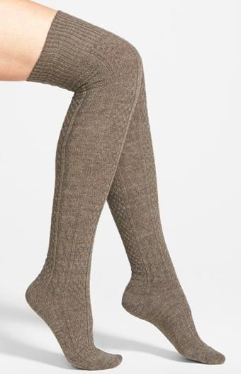 Oroblu 'Kirbie' Over the Knee Socks, $26