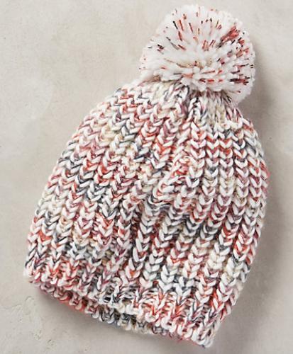 Anthropologie Ancona Pom Pom Hat, $40